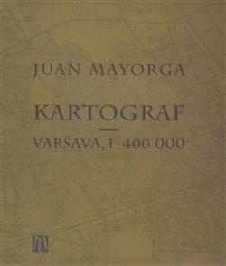 Obálka titulu Kartograf - Varšava, 1: 400 000