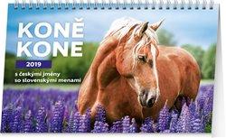 Obálka titulu Stolní kalendář Koně – Kone CZ/SK 2019