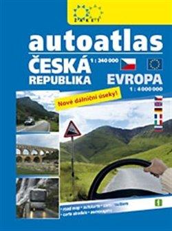 Obálka titulu Autoatlas ČR + Evropa