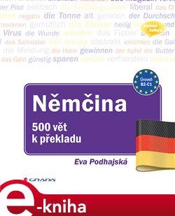 Obálka titulu Němčina - 500 vět k překladu