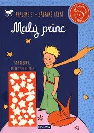 Malý princ - Kniha aktivit, oranžové svítící samolepky