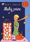 Obálka knihy Malý princ - Kniha aktivit, oranžové svítící samolepky