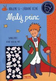 Malý princ - Kniha aktivit, modré svítící samolepky