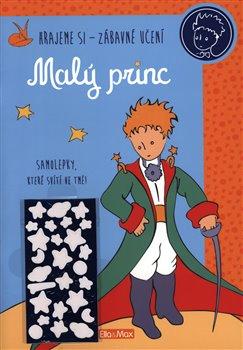 Obálka titulu Malý princ - Kniha aktivit, modré svítící samolepky