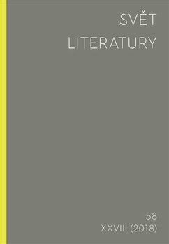 Obálka titulu Svět literatury 58/2018