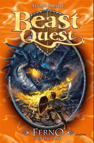 Ferno, ohnivý drak:Beast Quest 1. - Adam Blade   Booksquad.ink