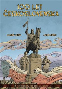 Obálka titulu 100 let Československa v komiksu