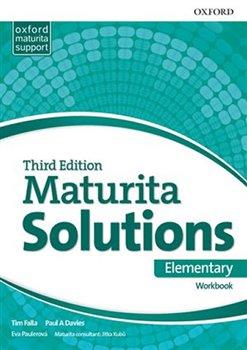 Obálka titulu Maturita Solutions 3rd Edition Elementary Workbook Czech Edition