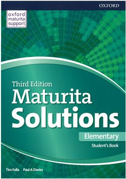 Obálka titulu Maturita Solutions 3rd Edition Elementary Student's Book CZ