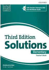 Maturita Solutions 3rd Elementary Essentials Teachers Book & Resource Disc Pack
