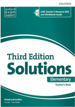 Obálka titulu Maturita Solutions 3rd Elementary Essentials Teachers Book & Resource Disc Pack