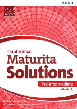Obálka titulu Maturita Solutions 3rd Edition Pre-Intermediate Workbook CZ