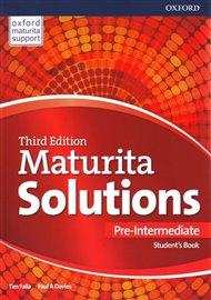 Maturita Solutions 3rd Edition Pre-Intermediate Student's Book Czech Edition