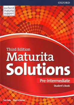 Obálka titulu Maturita Solutions 3rd Edition Pre-Intermediate Student's Book Czech Edition
