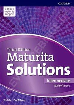 Obálka titulu Maturita Solutions 3rd Edition Intermediate Student's Book CZ