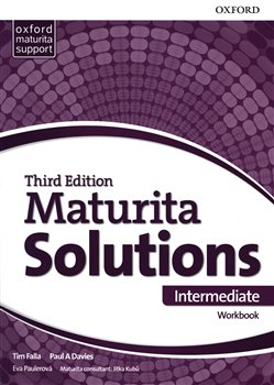 Obálka titulu Maturita Solutions 3rd Edition Intermediate Workbook CZ