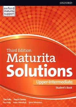 Obálka titulu Maturita Solutions 3rd Edition Upper Intermediate Student's Book CZ