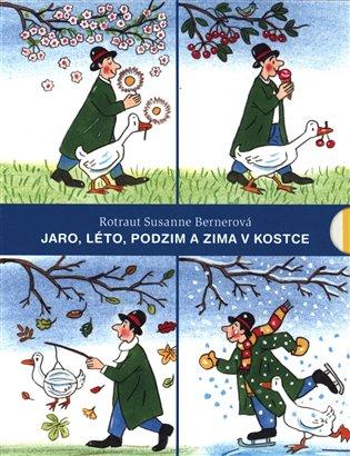 Jaro, Léto, Podzim aZima vkostce - Rotraut Susanne Bernerová   Booksquad.ink