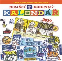 Obálka titulu Domácí rodinný kalendář 2019