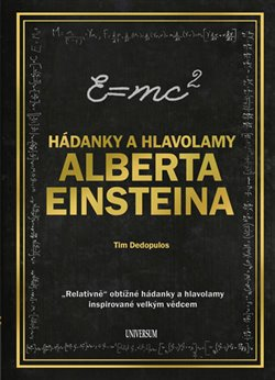 Obálka titulu Hádanky a hlavolamy Alberta Einsteina