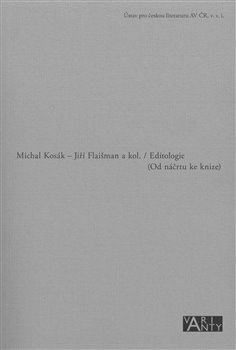 Obálka titulu Editologie