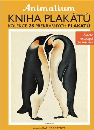 Animalium - kniha plakátů - Katie Scottová (ed.) | Booksquad.ink