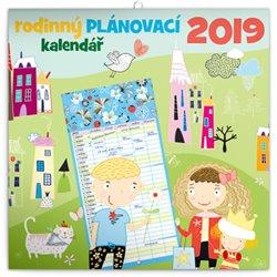 Obálka titulu Rodinný plánovací kalendář 2019
