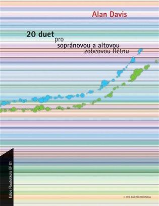 20 duet pro sopránovou a altovou zobcovou flétnu - Alan Davis   Booksquad.ink