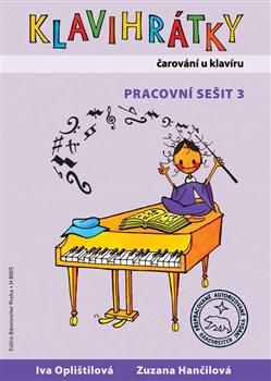 Obálka titulu Klavihrátky - čarování u  klavíru - pracovní sešit 3
