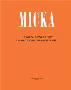 Obálka titulu Elementární etudy s doprovodem druhých houslí