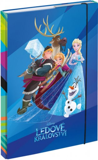 Desky na školní sešity A4 Frozen - - | Booksquad.ink