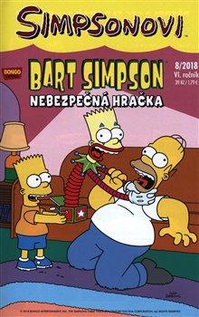 Obálka titulu Bart Simpson 8/2018: Nebezpečná hračka