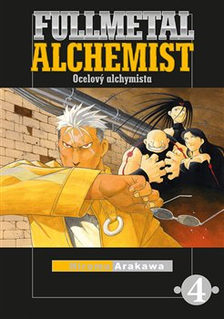 Obálka titulu Fullmetal Alchemist - Ocelový alchymista 4