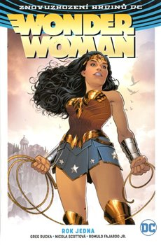 Obálka titulu Wonder Woman 2: Rok jedna