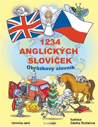 1234 anglických slovíček - Veronika Janů | Booksquad.ink