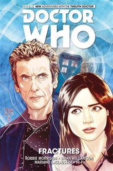 Obálka titulu Dvanáctý Doctor Who: Trhliny