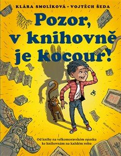Obálka titulu Pozor, v knihovně je kocour!