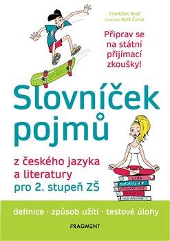 Obálka titulu Slovníček pojmů z českého jazyka a literatury pro 2. stupeň ZŠ