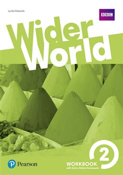 Obálka titulu Wider World 2 Workbook with Extra Online Homework Pack