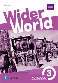 Obálka titulu Wider World 3 Workbook with Extra Online Homework Pack