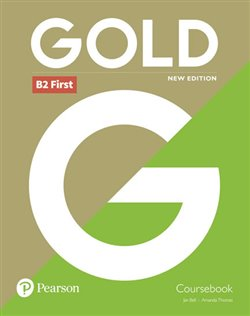 Obálka titulu Gold B2 First New 2018 Edition Coursebook