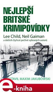 Obálka titulu Nejlepší britské krimipovídky