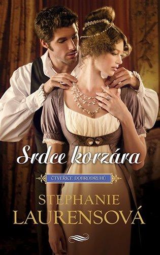 Srdce korzára:Čtveřice dobrodruhů 2 - Stephanie Laurensová | Booksquad.ink