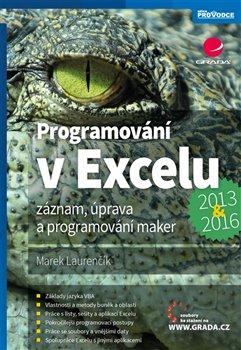 Obálka titulu Programování v Excelu 2013 a 2016