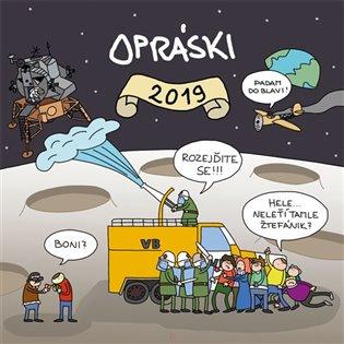 Opráski - Kalendář 2019 - jaz | Booksquad.ink