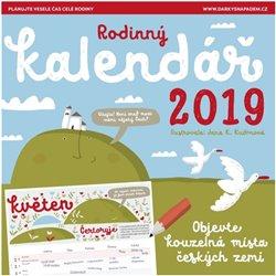 Rodinný kalendář 2019 Patagonie