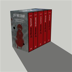 Obálka titulu Jo Nesbo box - Harry Hole VI-X