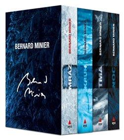 Obálka titulu 4 x Bernard Minier - box Mráz, Kruh, Tma, Noc