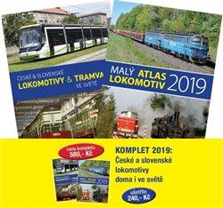 Komplet 2019: České a slovenské lokomotivy doma i ve světě