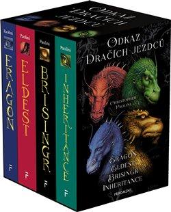 Obálka titulu Odkaz Dračích jezdců – Eragon, Eldest, Brisingr, Inherit
